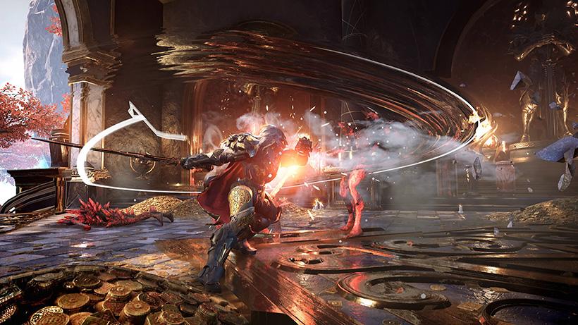 Godfall é demonstrado no PlayStation 5 - Outer Space